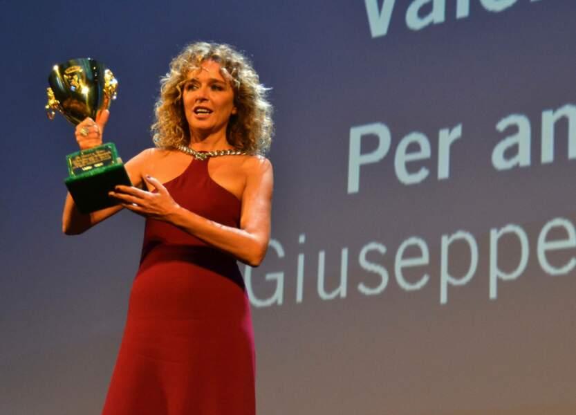 Coupe Volpi de la meilleure interprète féminine pour Valeria Golino dans Per amor vostro