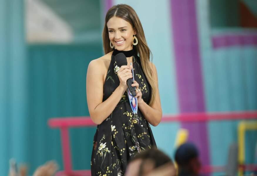 Jessica Alba, star de la nouvelle série LA's Finest, n'a pas eu de prix mais en a décerné un