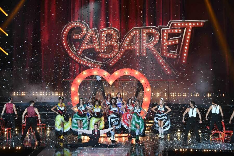 Le deuxième tableau était consacré à l'univers du cabaret !