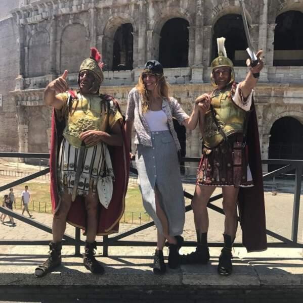 Tous les chemins mènent à Rome, n'est-ce pas Lou Doillon ?