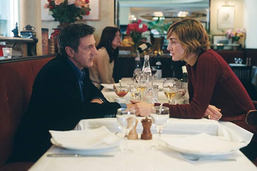 Daniel Auteuil et Julie Gayet dans Mon meilleur ami en 2006