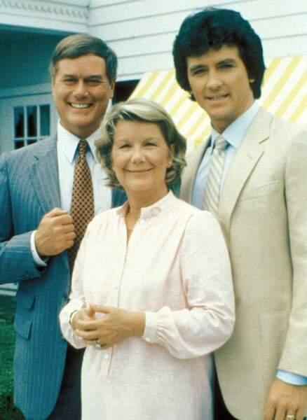 Bobby et J.R., les enfants terribles, et, leur mère, Miss Ellie