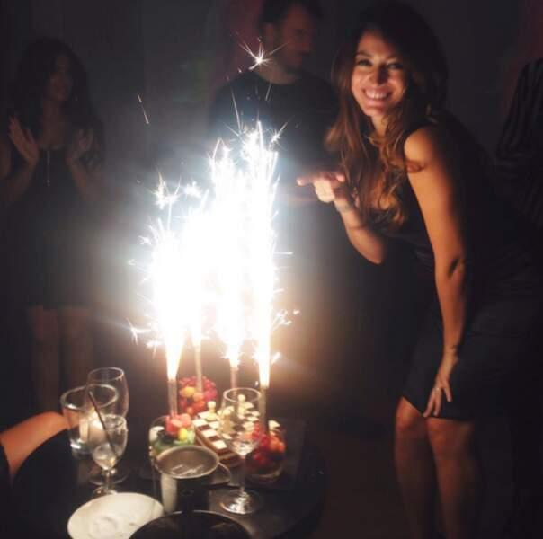 Rachel Legrain-Trapani, elle, a fêté ses 27 ans. Joyeux anniversaire !