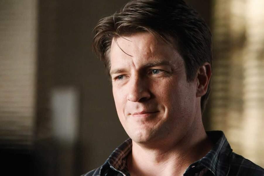 Nathan Fillion dans la saison 3 de Castle