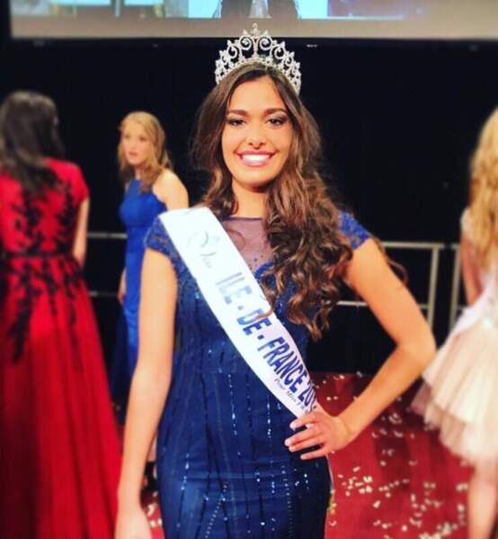 Lison Di Martino (18 ans) élue Miss Ile-de-France