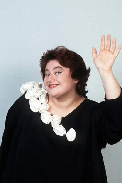 Sonia Dubois en 1991....