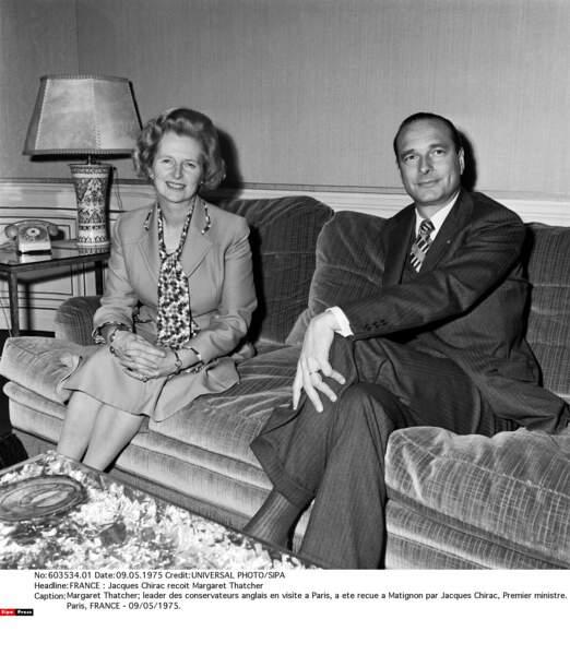 Une vie remplie de rencontres mémorables : Margaret Thatcher, la dame de fer britannique...