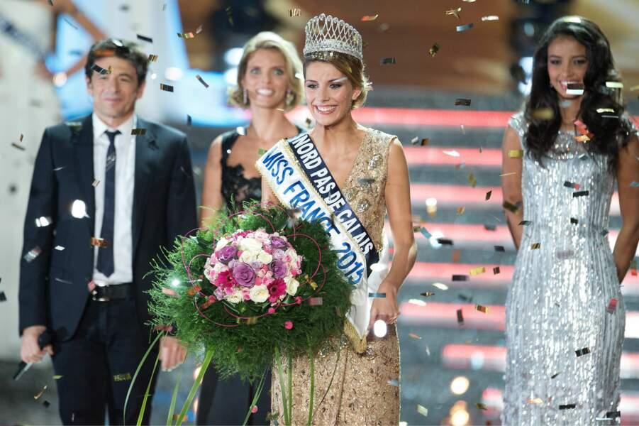 Camille, Cerf, nouvelle Miss France, n'a plus besoin de se forcer pour sourire