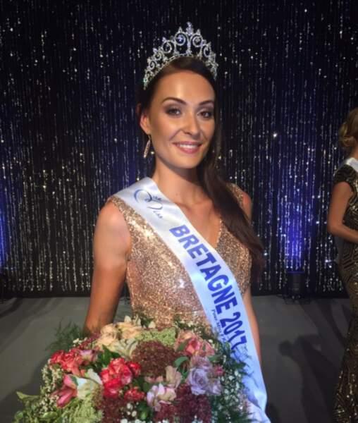 Caroline Lemée (24 ans) a été élue Miss Bretagne