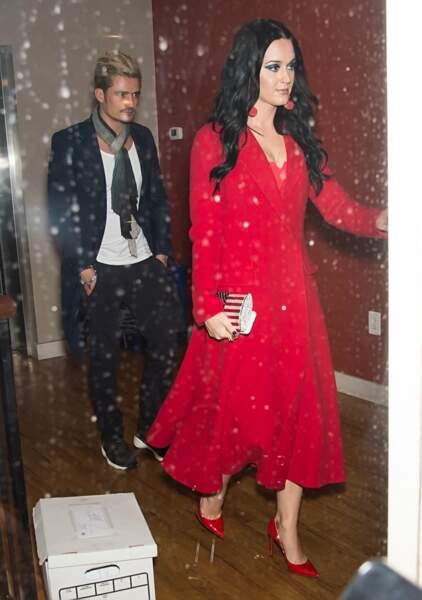Un des couples les plus iconiques de l'année : Katy Perry et Orlando Bloom.