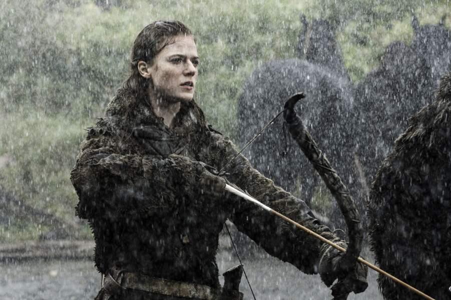 Ygritte, incarnée par Rose Leslie, réussit à séduire Jon Snow