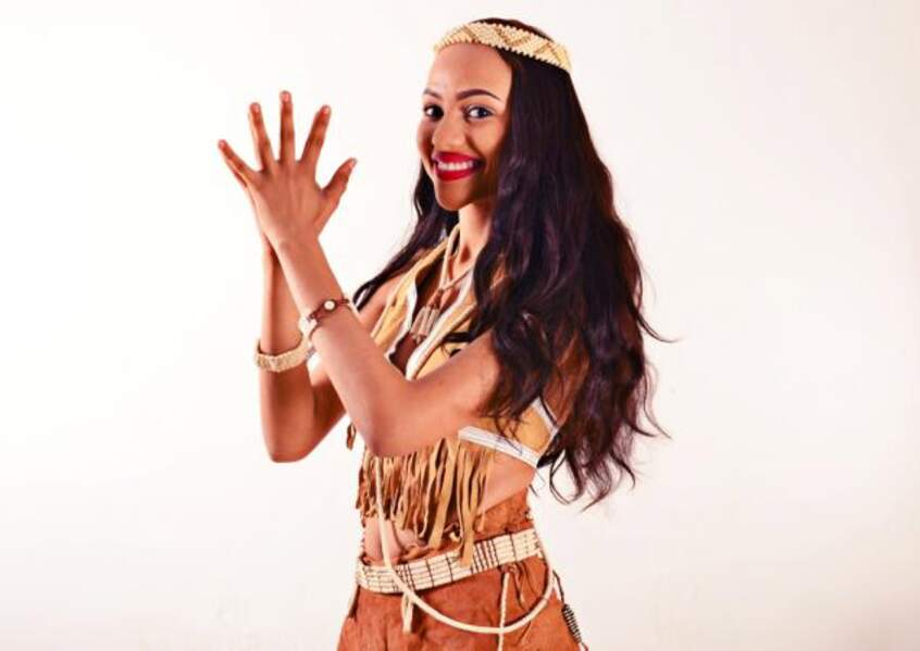 Seneo Bambino Mabangano porte les couleurs du Botswana