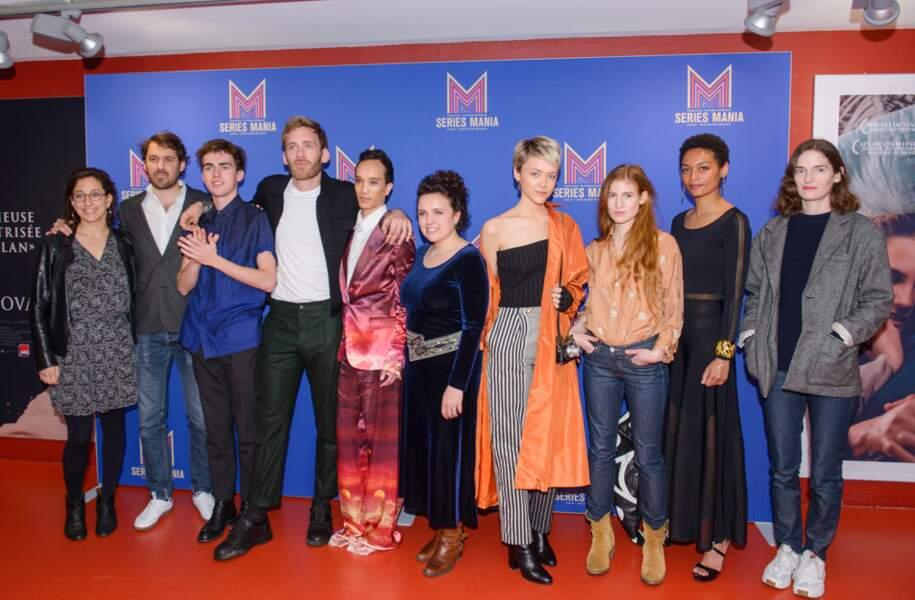 Toute l'équipe d'Osmosis, la troisième série française de Netflix, est venue présenter les premiers épisodes
