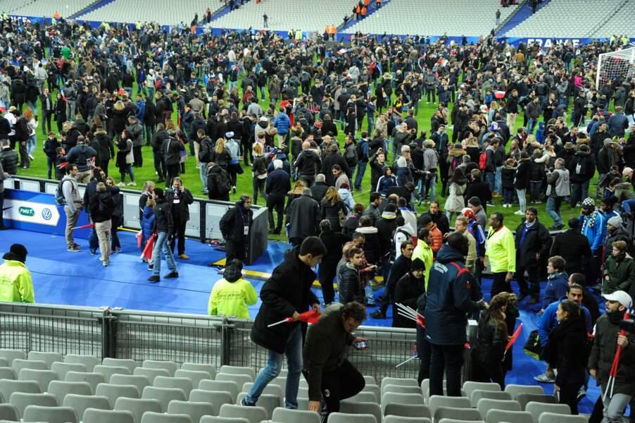 13 novembre, Nuit d'effroi à l'abri du stade de France
