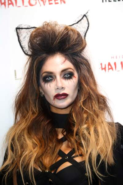 Nicole Scherzinger, mi-chat mi-vampire.