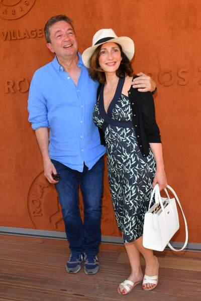 … Frédéric Bouraly, qui campe son mari José dans la série de M6, était là aussi…
