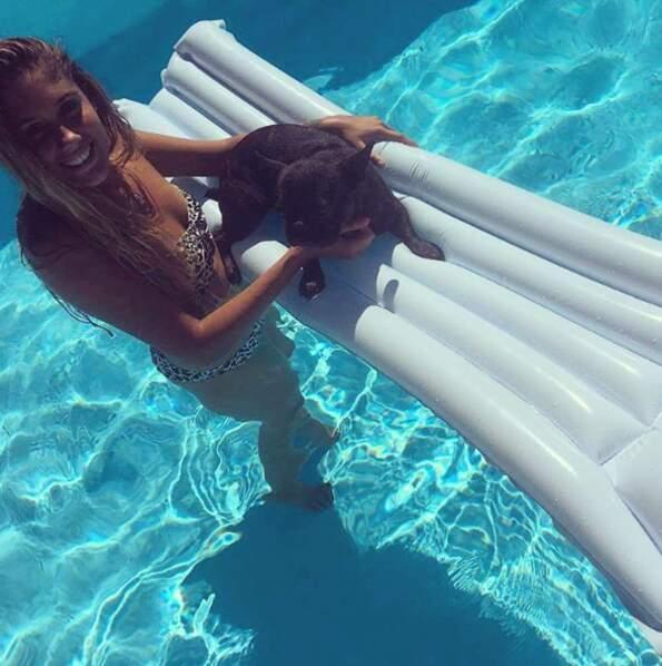 J'ai touché le fond d'la piscine sans mon p'tit pull marine