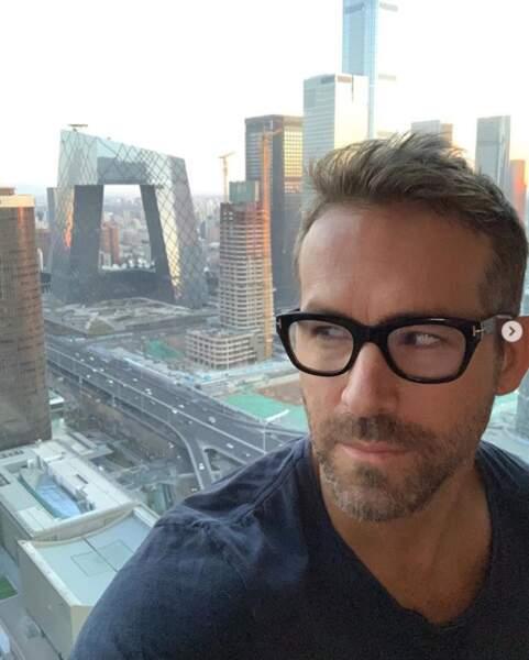 Ryan Reynolds était de passage à Pékin.