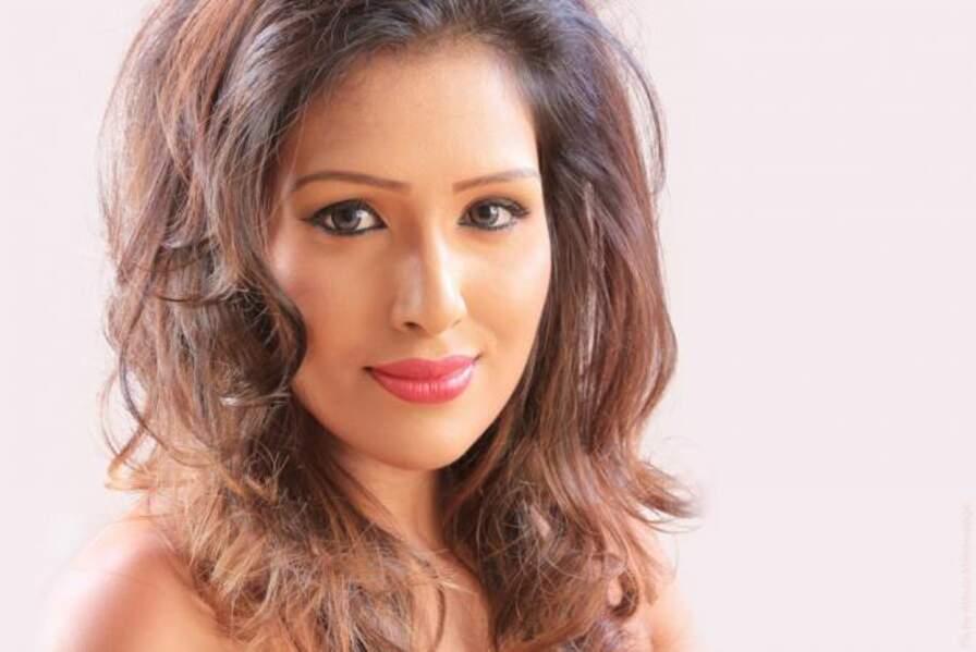 La jolie Thilini Amarasooriya représente le Sri-Lanka