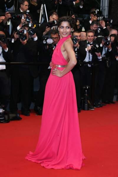 Freida Pinto, l'actrice indienne révélée par Slumdog Millionaire en 2008