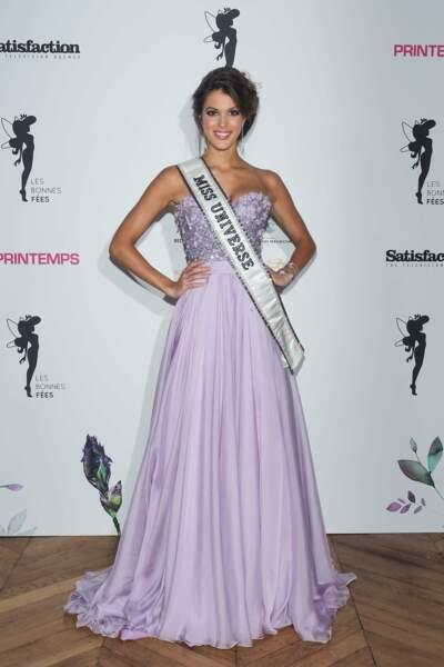 Iris Mittenaere, Miss Univers 2016, est actuellement en France après des semaines loin de son pays