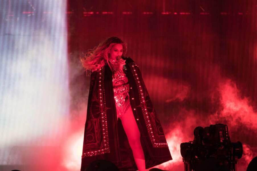 Plus de doute après deux heures de show, : aujourd'hui, Beyoncé est sans conteste la reine de la pop