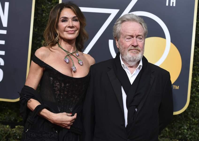 Giannina Facio et Ridley Scott