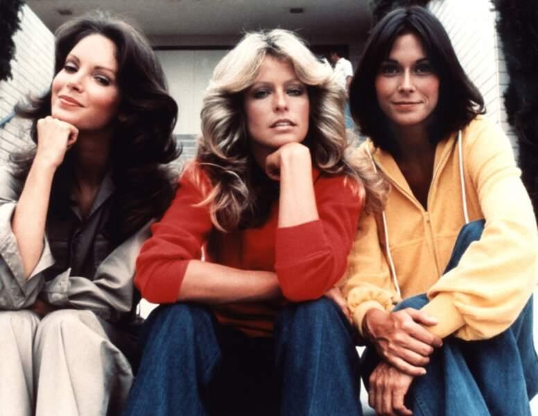 Les actrices, à la mode des années 70