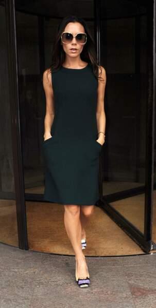 Victoria Beckham, toujours souriante !