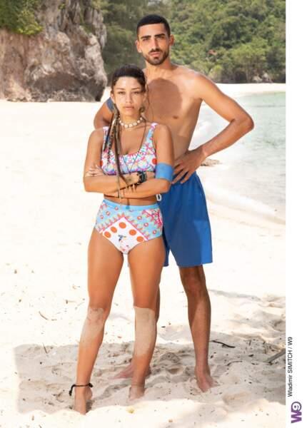 Cynthia et Anthony Alcaraz des Princes et des Princesses de l'Amour 6