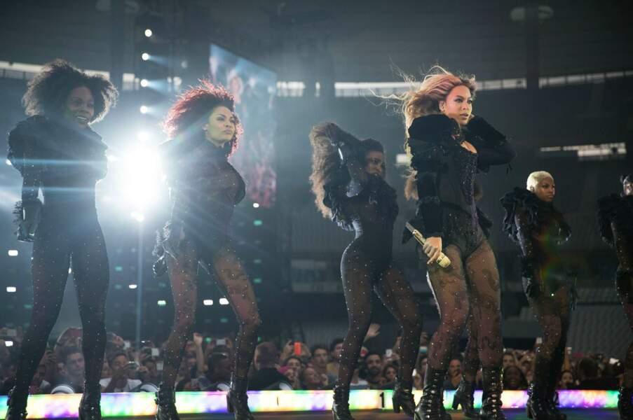 21h : Beyoncé fait son entrée au Stade de France
