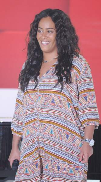 La chanteuse Amel Bent attend son premier enfant.