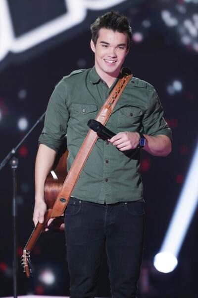 François Lachance, 21 ans, talent de l'équipe de Jenifer