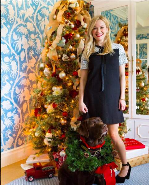 Reese Witherspoon, parfaite housewife for Christmas