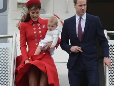 Kate, William et baby George : le voyage insolite de la famille royale