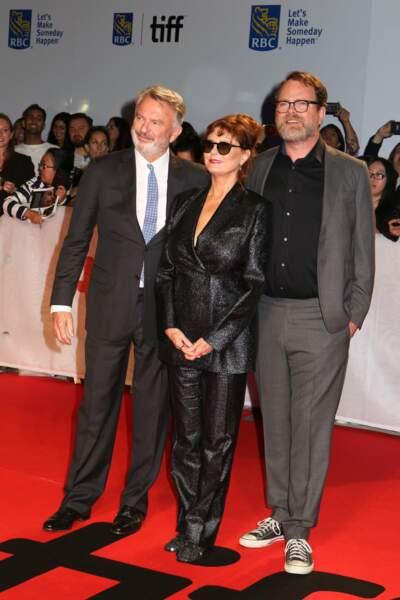 Avec Sam Neill et Rainn Wilson
