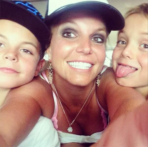 Sinon malgré la rupture, Britney Spears garde le sourire !