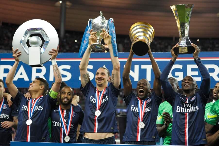 30 mai, Quatre compétitions, quatre titres. Paris est sans rival en France ! Pour la C1, faudra attendre