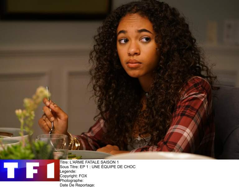 … qui s'appelle Riana dans la série. Elle est incarnée par la jeune Chandler Kinney