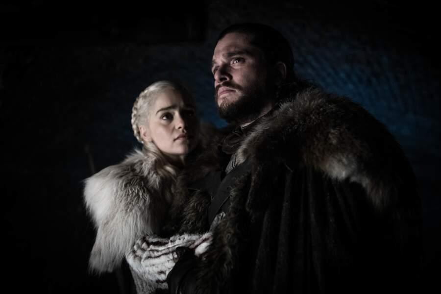 Pour Jon Snow et Daenerys, le répit sera de courte durée et leur amour se retrouve vite menacé