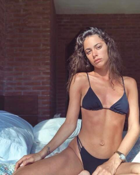 On termine avec un peu de sexy : Tinita Stoessel, alias Violeta, a posé en bikini.