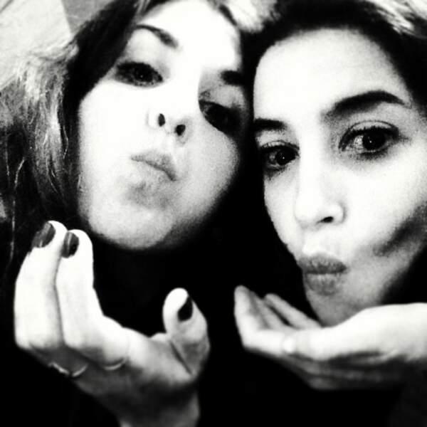 Et on termine avec une photo avec son amie Leila Bekhti ! Cute