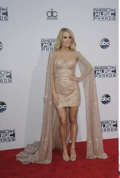 La chanteuse Carrie Underwood