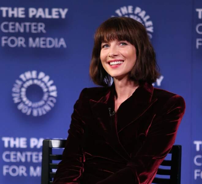 Voici son actrice, Caitriona Balfe : on ne l'aurait pas reconnue !