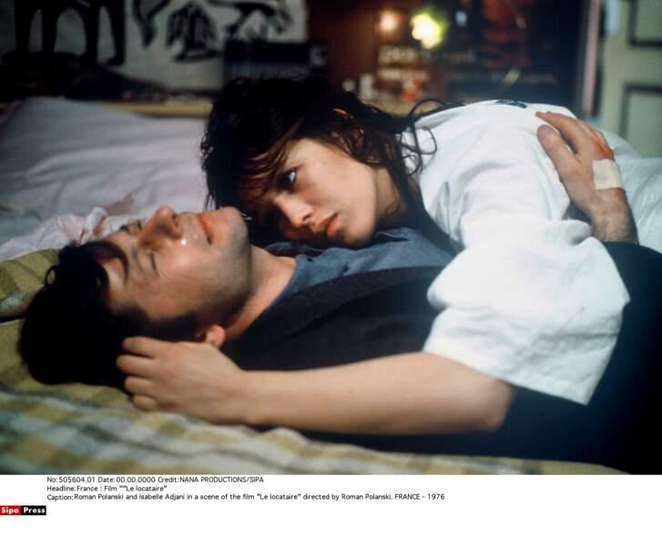 Dans Le locataire, de et avec Roman Polanski, en 1976