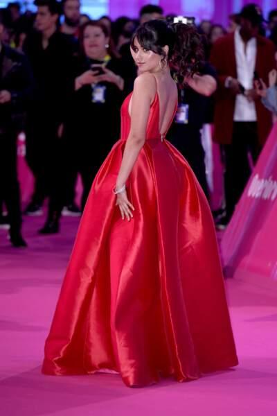 Grande vainqueur de la soirée, Camila Cabello