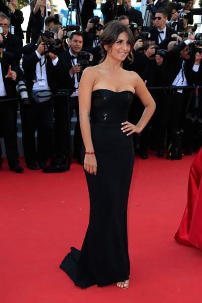 """Géraldine Nakache lors de la montée des marches pour """"Youth"""" au Festival de Cannes"""