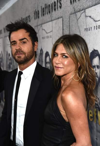 """C'est """"amicalement"""" que Jen à mis fin à son second mariage après 7 ans de vie commune avec Justin Theroux"""
