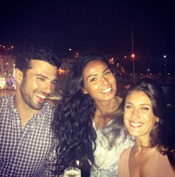 Karima, Laureen et Romain toujours complices, même un mois après la finale