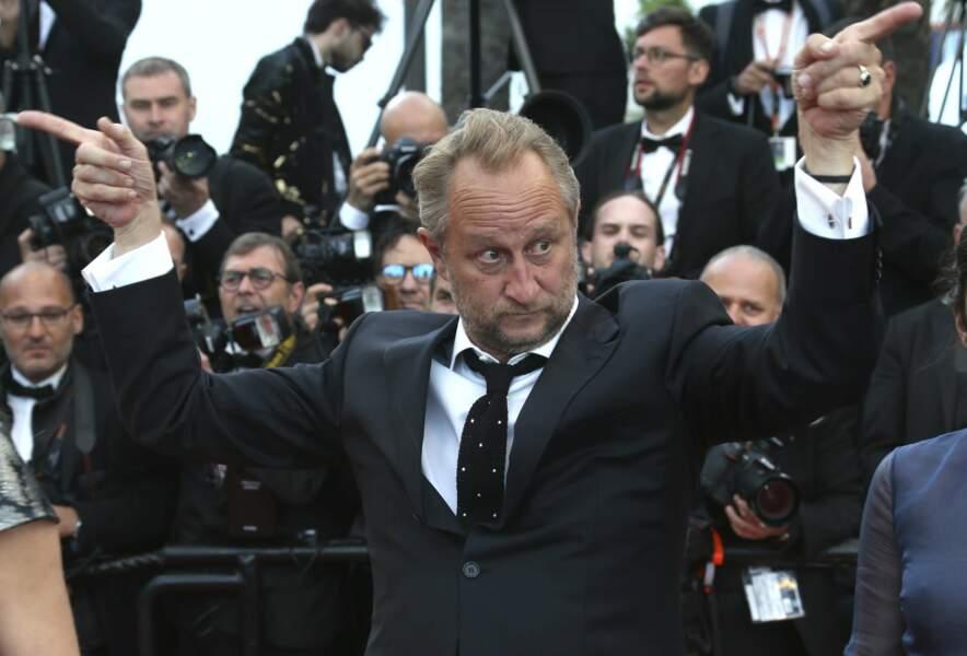 Benoit Poelvoorde, visiblement très en forme